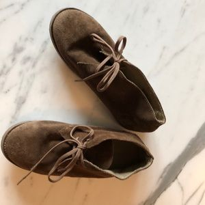 Boys Crewcuts suede shoes